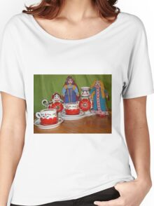 Russian Doll Tea Time Women's Relaxed Fit T-Shirt