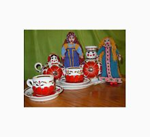 Russian Doll Tea Time Unisex T-Shirt
