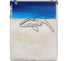 Last Time (Whale In The Desert) iPad Case/Skin