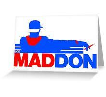 Chicago Cubs - Joe Maddon Greeting Card