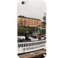 Stockholm #3 iPhone Case/Skin