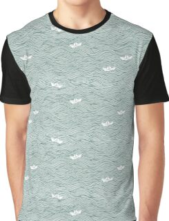 Little Paperboats Graphic T-Shirt