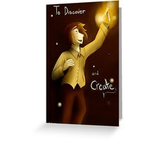 To Discover and Create Greeting Card