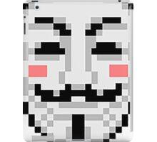 V For Vendetta - Mask iPad Case/Skin