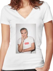 Morrisey x Supreme Women's Fitted V-Neck T-Shirt