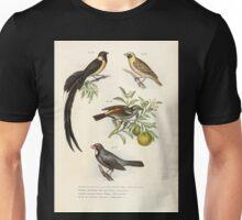 Bilder atlas zur Wissenschaftlich populären Naturgeschichte der Vögel in ihren sämmtlichen Hauptformen Leopold Joseph Fitzinger 1864 043 Unisex T-Shirt