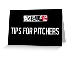 Chicago Cubs - Tips For Pitchers Greeting Card