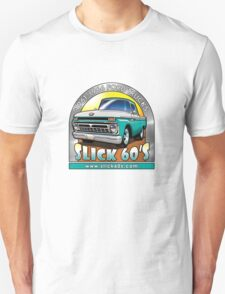 Slick 60's - Caribbean Turquoise Unisex T-Shirt