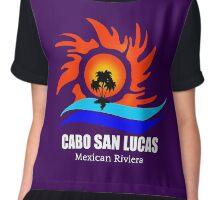 Cabo San Lucas Chiffon Top