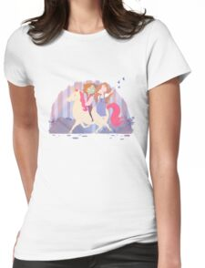 The Dork One and His Lady Maid Womens Fitted T-Shirt