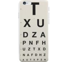 Eye Chart iPhone Case/Skin