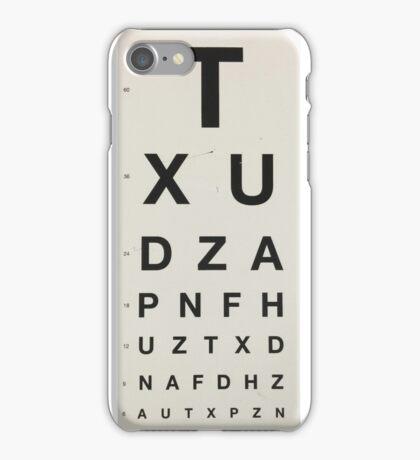 Eye Chart iPhone Case/Skin