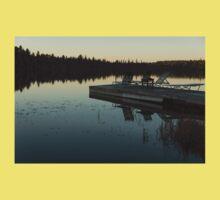 Empty - Reflecting on Sunset Serenity One Piece - Short Sleeve