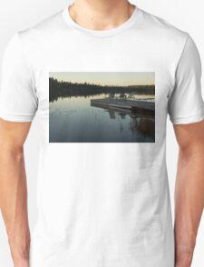Empty - Reflecting on Sunset Serenity Unisex T-Shirt