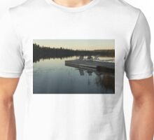 Empty - Reflecting on Sunset Serenity Unisex T-Shirt