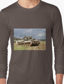 British Army Warrior Infantry Fighting Vehicle Long Sleeve T-Shirt