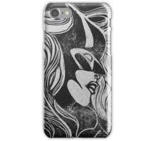 Batwoman linocut iPhone Case/Skin