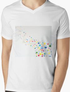 Play of Colours Mens V-Neck T-Shirt