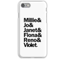 Sutton Foster Roles | White iPhone Case/Skin