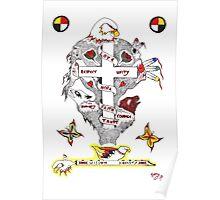 eagle cross Poster
