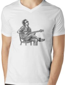 JJ Cale Mens V-Neck T-Shirt