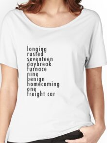 Bucky's Trigger Words CA:CW Women's Relaxed Fit T-Shirt