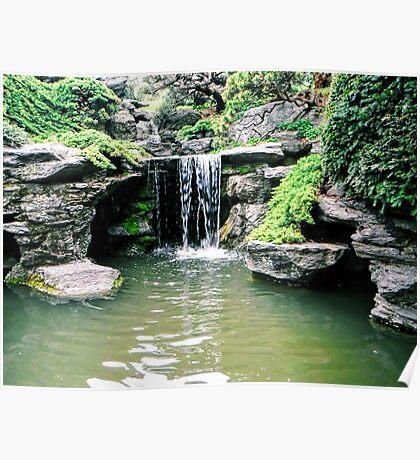 Miniture Waterfall Poster