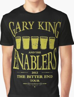 Gary King and the Enablers Graphic T-Shirt
