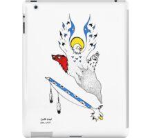 peace pipe iPad Case/Skin