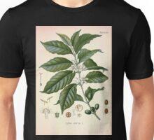 Köhler's Medizinal Pflanzen in naturgetreuen Abbildungen mit kurz erläuterndem Texte  Atlas zur Pharmacopoea 1883 1914 V2 023 Coffea Arabica Unisex T-Shirt