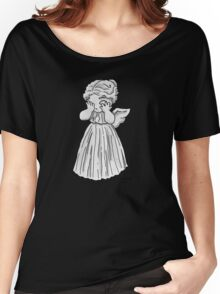 Don't Cry, Li'l Angel Women's Relaxed Fit T-Shirt