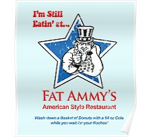 American Style Restaurant Poster