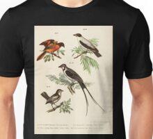 Bilder atlas zur Wissenschaftlich populären Naturgeschichte der Vögel in ihren sämmtlichen Hauptformen Leopold Joseph Fitzinger 1864 047 Unisex T-Shirt