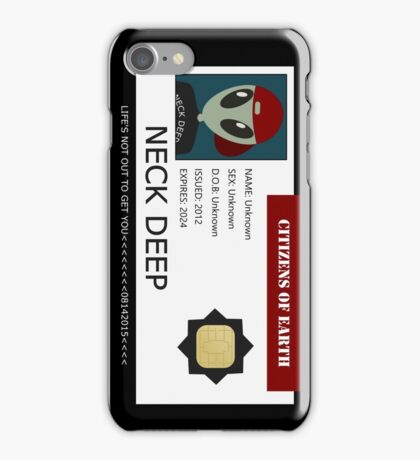 C.O.E iPhone Case/Skin