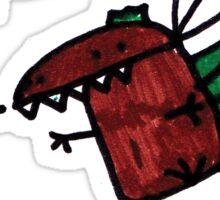 Parachoot Dinosaur Sticker