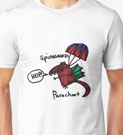 Parachoot Dinosaur Unisex T-Shirt