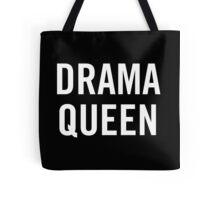 Drama Queen (White) Tote Bag