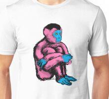 Humanoid ape pink Unisex T-Shirt