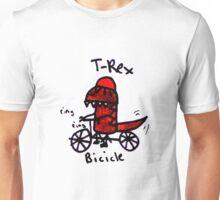 Bicicle T-Rex Unisex T-Shirt