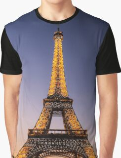 Eiffel Tower and sunset (2) Graphic T-Shirt