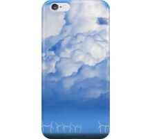 Wind Farm in the Channel iPhone Case/Skin