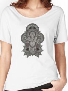 Ganesha - gray Women's Relaxed Fit T-Shirt