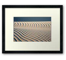 Dunes at Nipomo Framed Print
