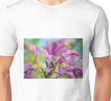 Abstract Art Of Magnolia Flower Unisex T-Shirt
