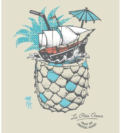 a Tropical Voyage Sticker
