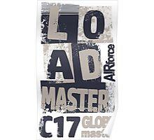 Loadmaster Globemaster Poster