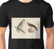 Bilder atlas zur Wissenschaftlich populären Naturgeschichte der Vögel in ihren sämmtlichen Hauptformen Leopold Joseph Fitzinger 1864 018 Unisex T-Shirt