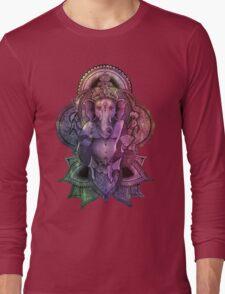 Ganesha Color - black Long Sleeve T-Shirt