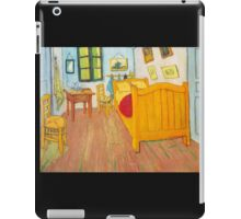 'The Bedroom in Arles, Saint Remy' by Vincent Van Gogh (Reproduction) iPad Case/Skin