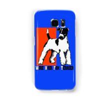 Wire Hair Fox Terrier Samsung Galaxy Case/Skin